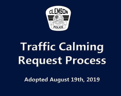 Traffic Calming Request Process