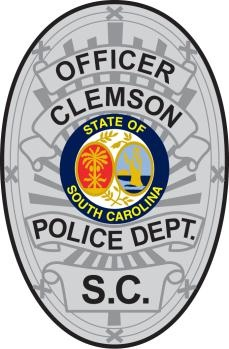 Officer Clemson Badge Image